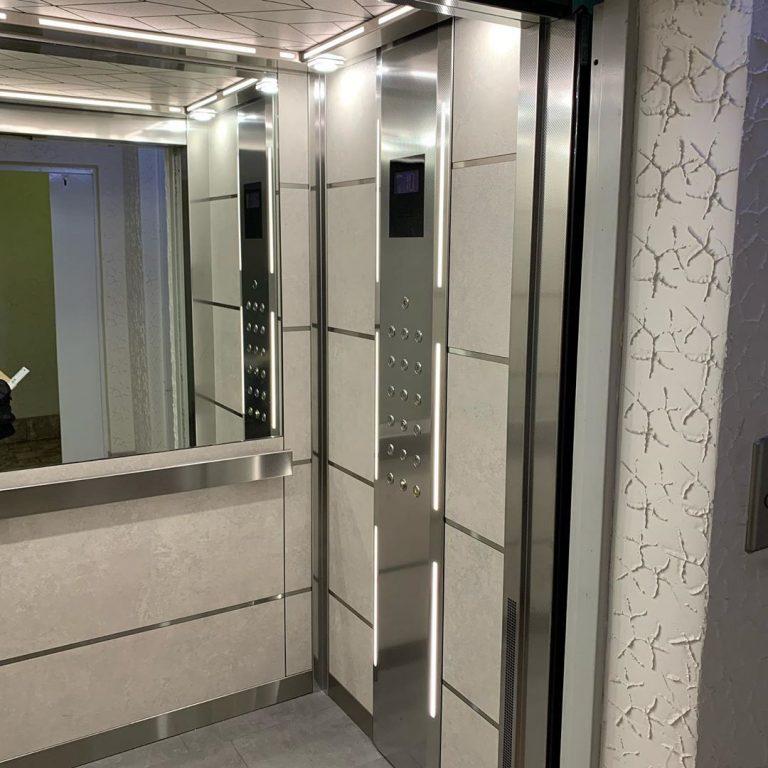 Отделка лифтов и лифтовых холлов